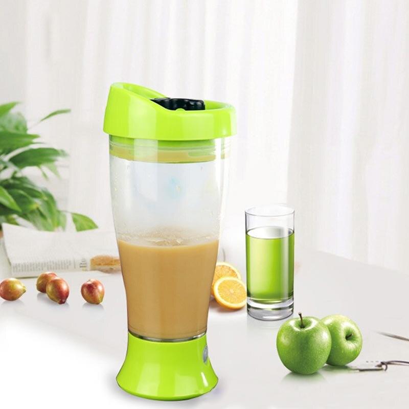 Superior 450 proteína ml botella eléctrica Shaker botella portátil Vortex Mixer Milk Shake botella de agua taza a prueba de fugas