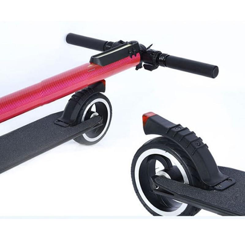 Rueda trasera de 5 tamaño en pulgadas para S3 S2 I7 I6 JACK HOT JASION de carbono plegable Mini Scooter Eléctrico rueda trasera ejes neumáticos