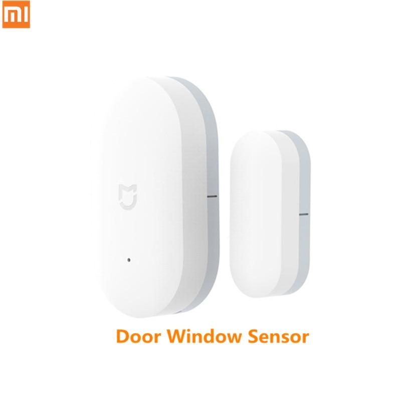 En stock Original Xiaomi Mijia inteligente Mini Sensor de ventana tamaño de bolsillo Smart Home luces automáticas para MIhome App D5