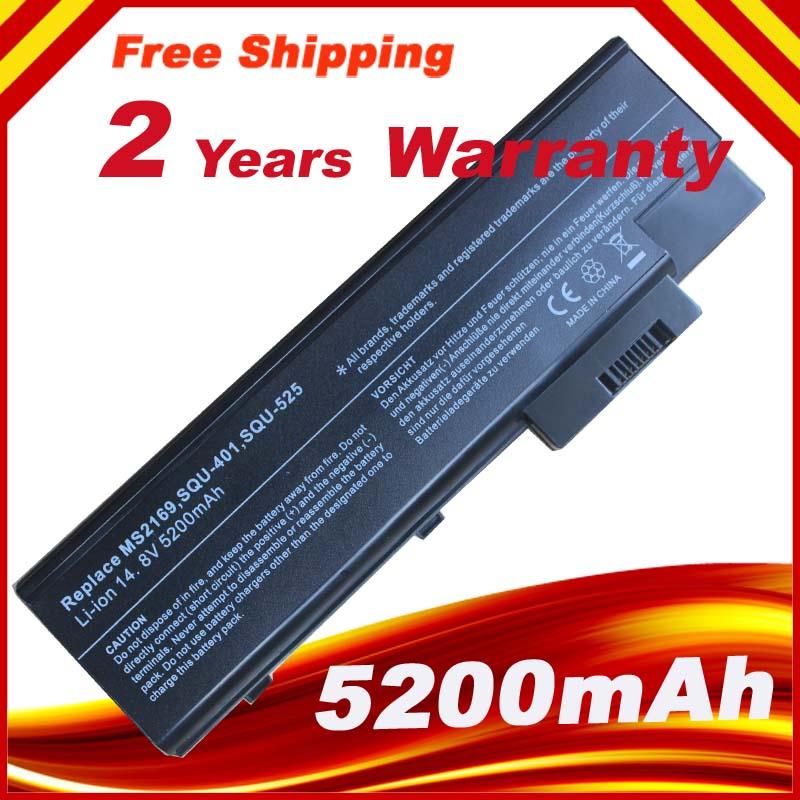 4400mAh batería del ordenador portátil para ACER Aspire 1410, 1415, 1640, 1650,...