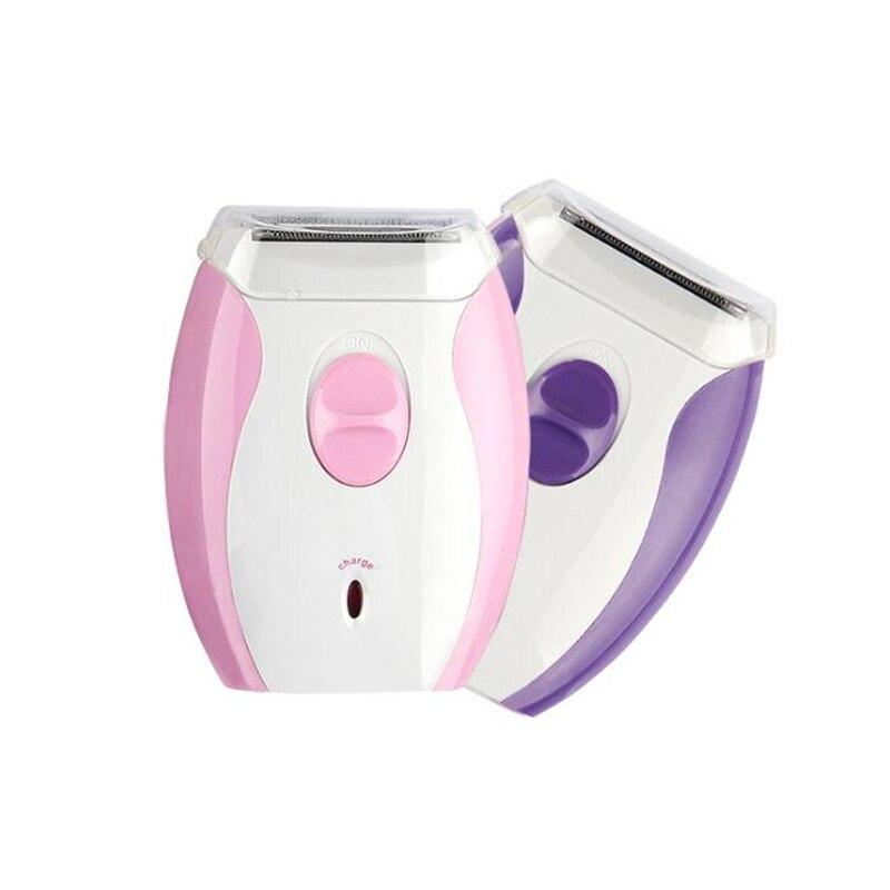 Depiladora cuchilla de afeitar femenina 220-240V previene alergias uso más conveniente de depiladora de hoja de acero inoxidable