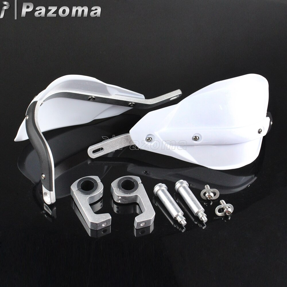22mm 28mm White Universal Handguard Protector Off Road Dirt Bike Wind Deflector Hand Guards for Yamaha Suzuki Honda KTM ATV