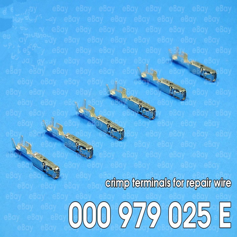 Envío gratis de terminales de crimpado (PINES) para cable de reparación para Seat 000979025E 000 979 025 E