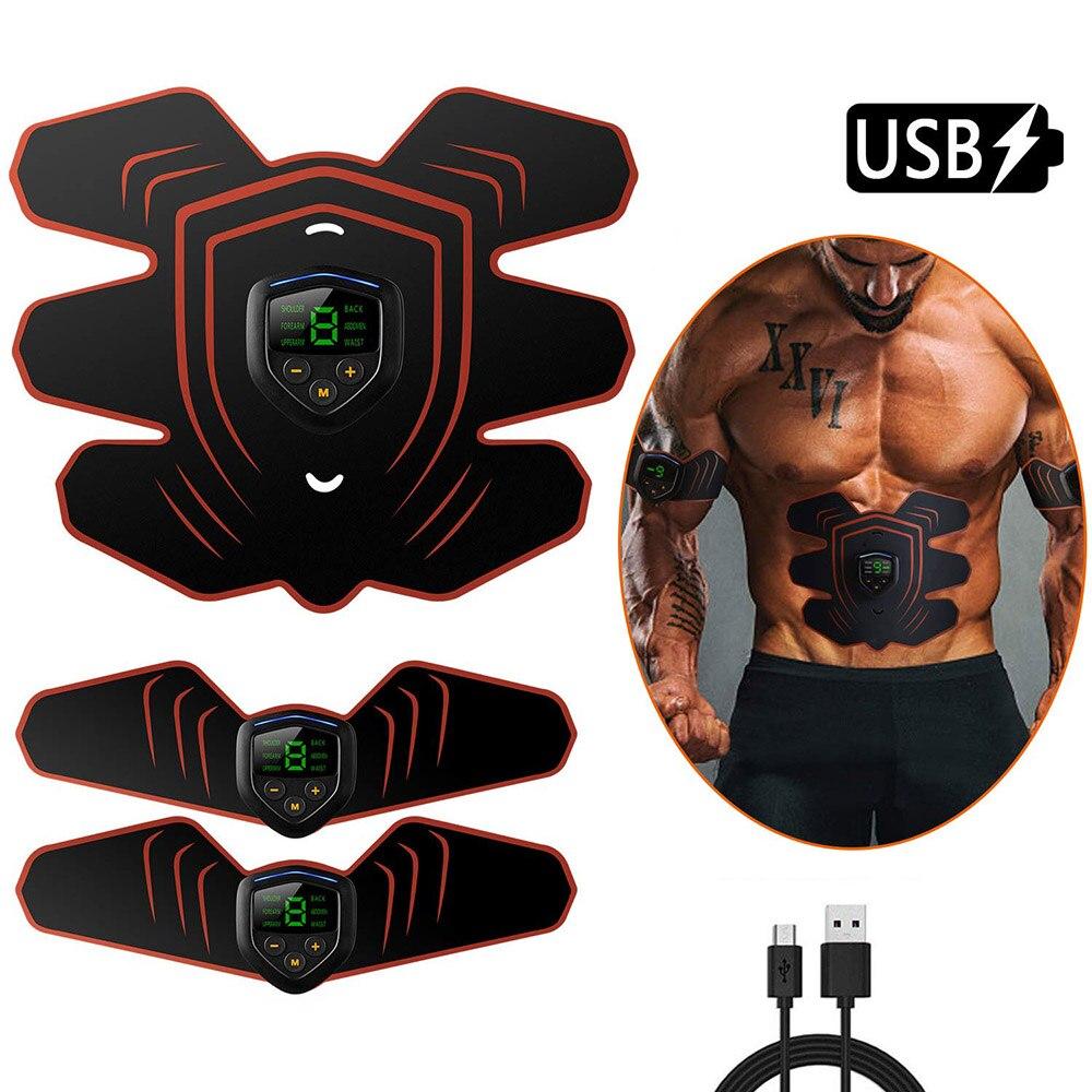Vibration Fitness masajeador estimulador muscular Abdominal Toner gimnasio en casa electroestimulación ABS Trainer EMS aparato de entrenamiento