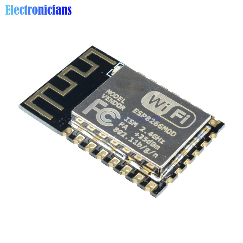 10Pcs ESP8266 ESP-12F Seriële Wifi Model ESP-12E Upgrade Afstandsbediening Draadloze Module ESP12F ESP12 Authenticiteit Gegarandeerd 4M Flash Iot