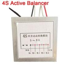5A-8A 4 S 12 V équilibreur actif égaliseur Lipo Lifepo4 batterie Li-ion BMS Module de Conversion dynamique à haut courant carte de Protection a