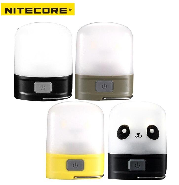 Linterna de Camping Nitecore LR10 9 x LED CRI de alta calidad, recargable por USB