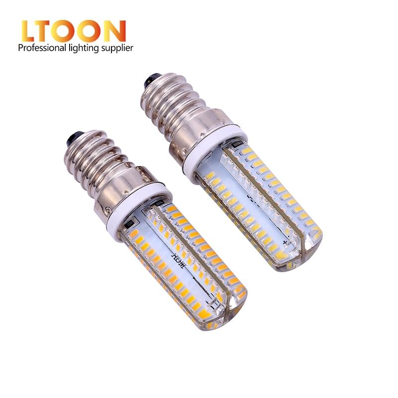 [LTOON]Led G4 G9 E14 lámpara bombilla de intensidad regulable AC DC 12V 12V 220V 3W 6W 9W COB SMD reemplazar halógeno de iluminación foco de luces