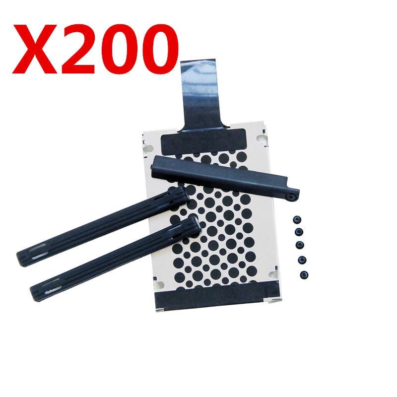 HDD Caddy резиновые рельсовые крышки винта для IBM/Lenovo Thinkpad X200 X200s X201 X201s