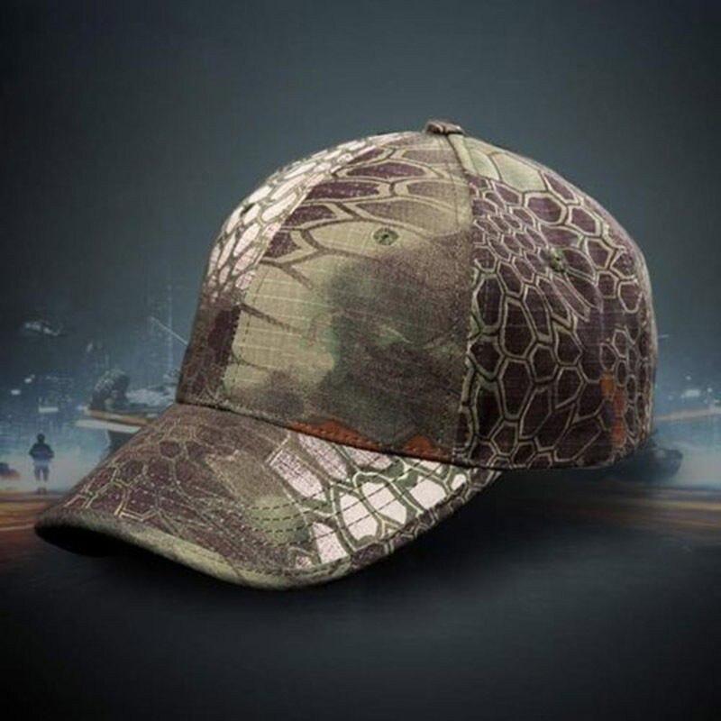 1 unidad Unisex ejército camuflaje Camuflaje militar bosque soldado caza sombrero gorra de béisbol 2019 nuevo