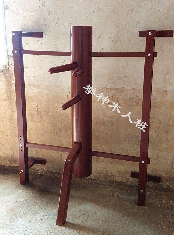 Pata de mano simulada de madera Hung Elm Wing Chun de pared personalizada, ajuste kungfú chino, maniquí de madera duradero para colgar en la pared