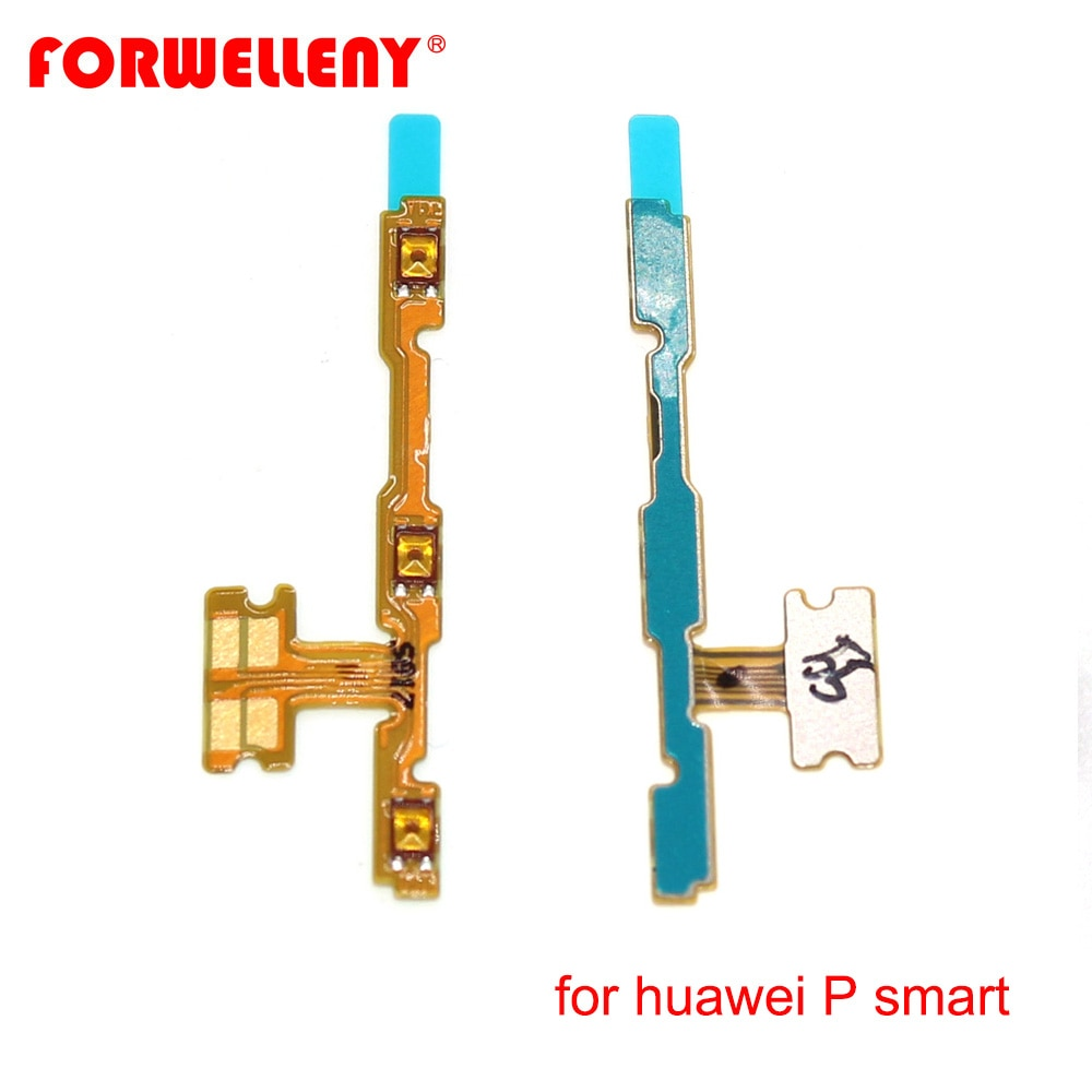 For huawei P smart / Enjoy 7S FIG-LX1 Power Switch On/Off Button Volume Key Button Flex Cable FIG-LA1 FIG-LX2 FIG-LX3 недорого