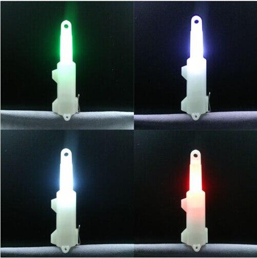 1 unids/lote, señuelo de calamar para pesca submarina, luz intermitente, minicebos estroboscópicos LED, gota profunda, 7g