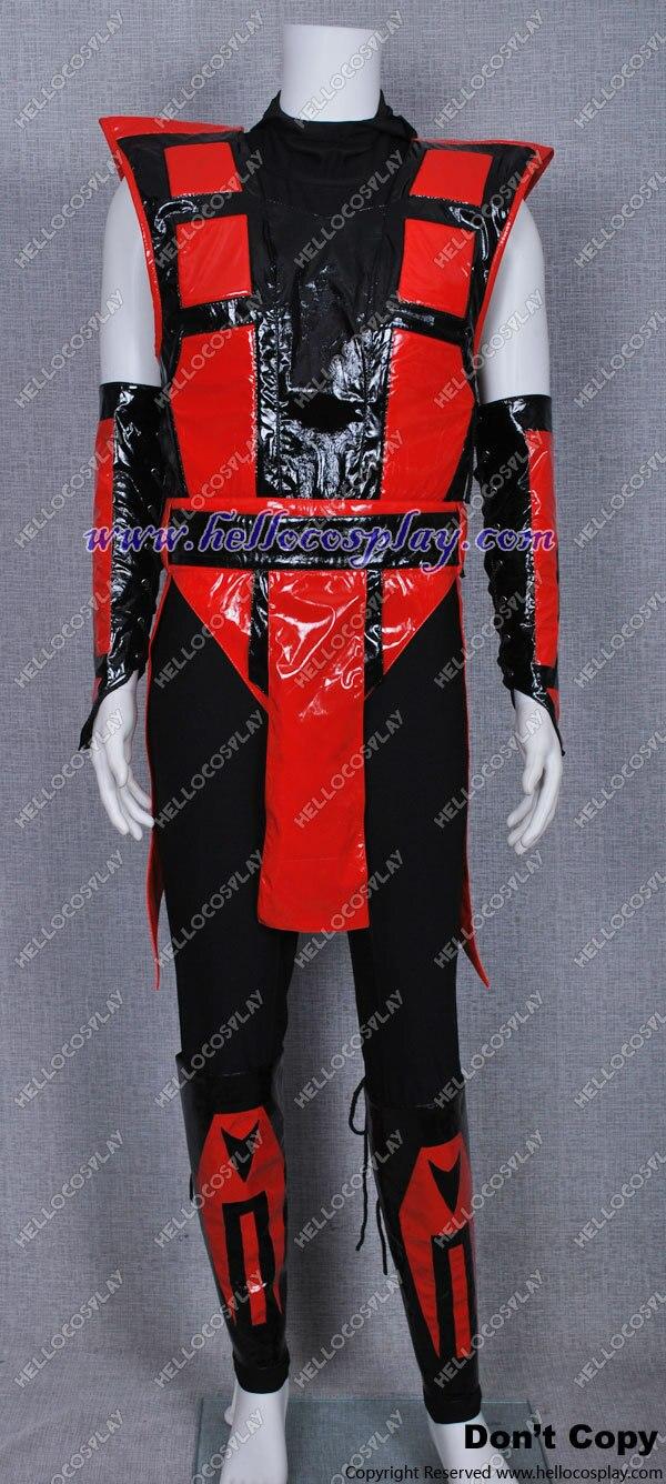 Disfraz de Cosplay de Mortal Kombat, disfraz de Ninja Ermac H008