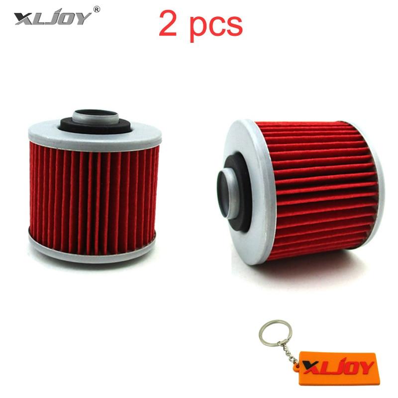 2x Oil Fuel Filter For Yamaha XC180 XT400 XT550 XV500 XV535 XV750 XV920 XV1000 XT600E XT660R XT 660Z XT660X Pit Dirt Motorcycle