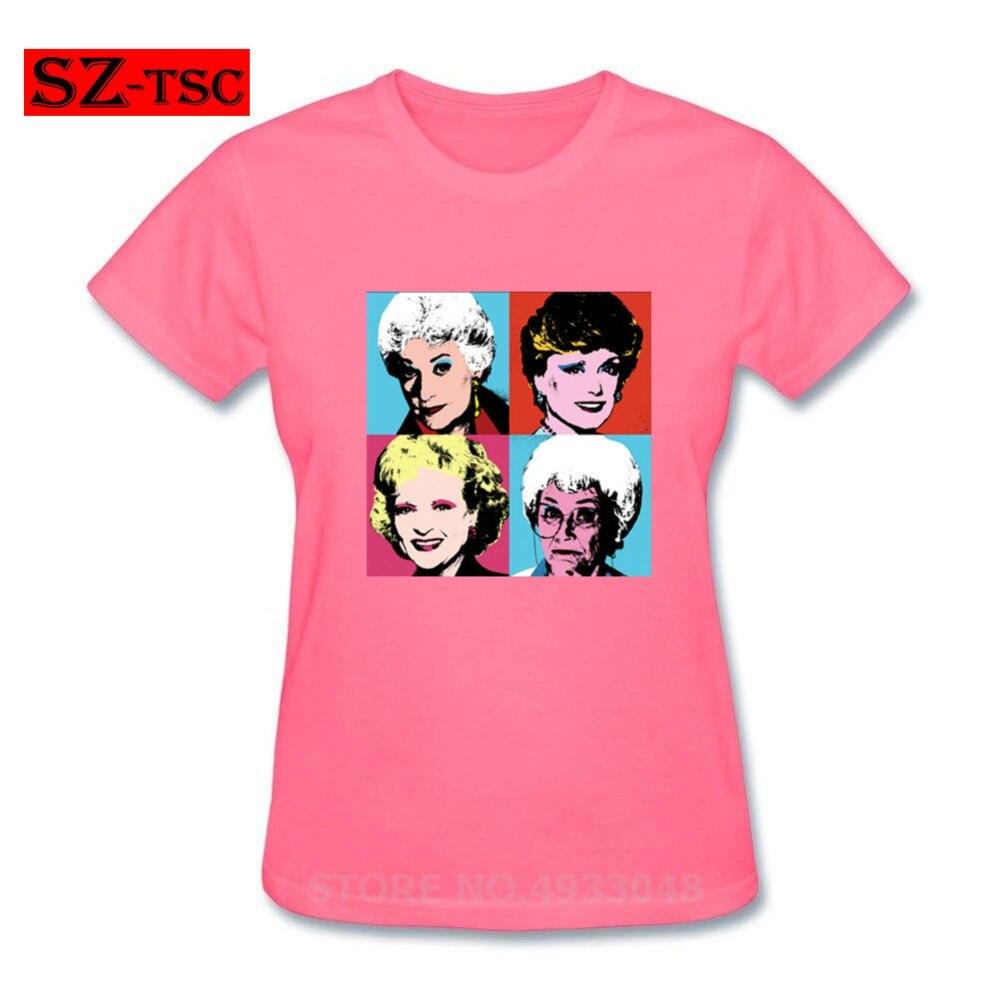 Camiseta de Krishna Golden Warhol para chicas, camiseta impresionante para mujeres, camiseta 100 de algodón, ropa de calle de gran tamaño, camiseta gráfica de manga corta