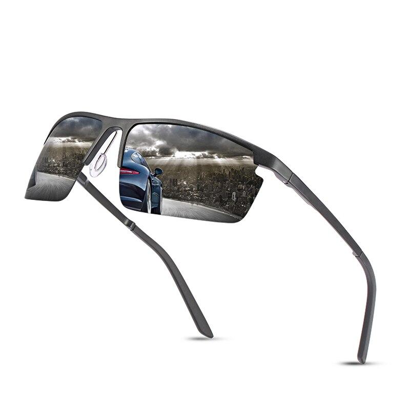Модные солнцезащитные очки Классические Мужские поляризационные солнцезащитные очки мужские солнцезащитные очки из алюминиево-магниевог...