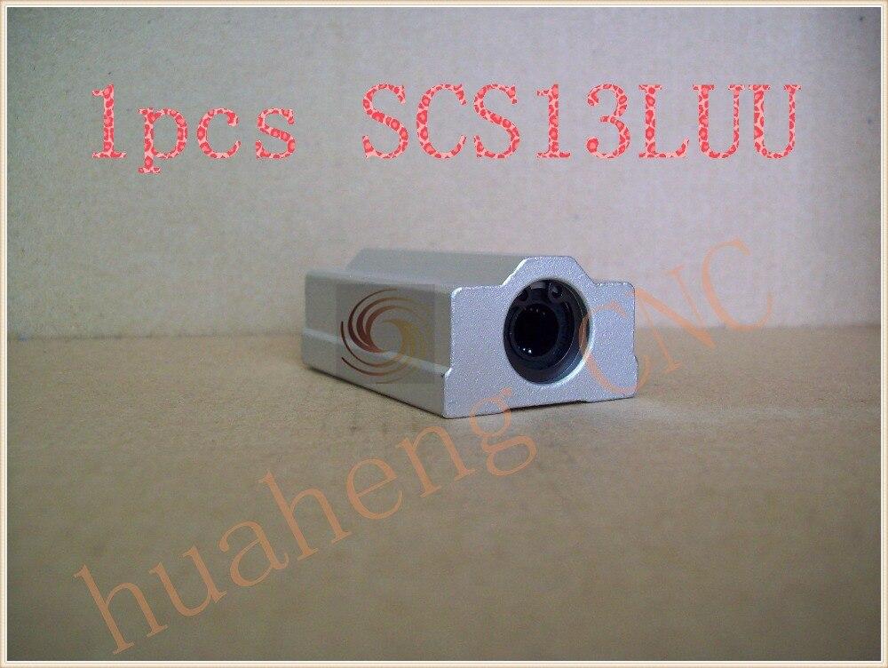 SC13LUU SCS13LUU bearing 13mm linear  slide block for  rod round shaft XYZ Table CNC 1pcs