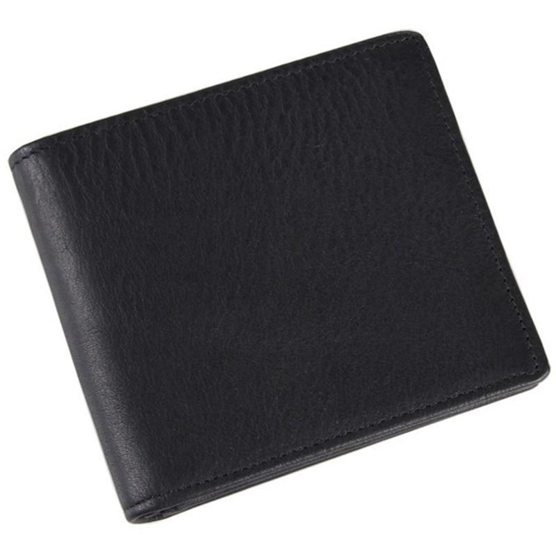 Quality Assurance male wallet with zipper pocket genuine leather wallet men Purse brand portafoglio uomo wallett for money