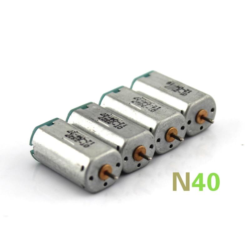 N40 motor. Miniature DC motor, high-speed motor, model making strong magnet model motor. 1mm shaft