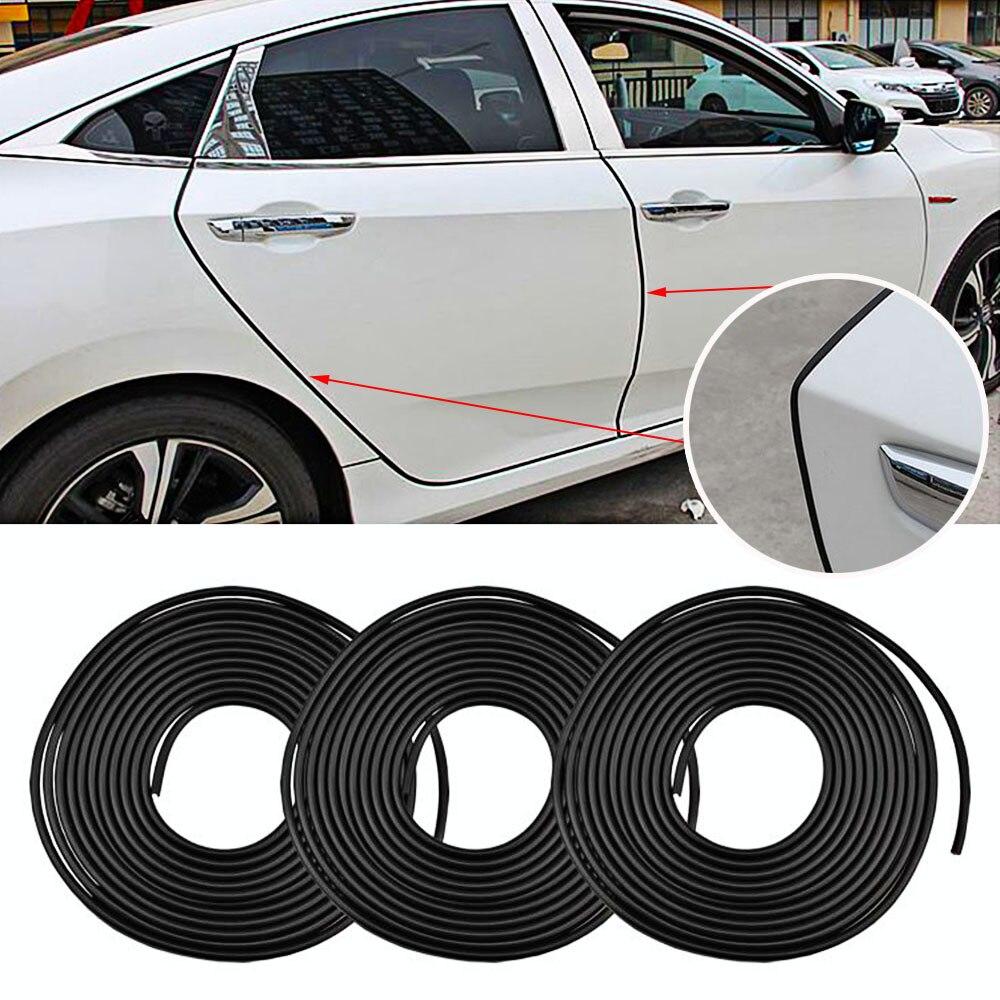8 м Защита от царапин на двери автомобиля, полоски, резиновые края, дверные молдинги, боковая защита, наклейка, царапины, автомобиль для стайлинга автомобиля