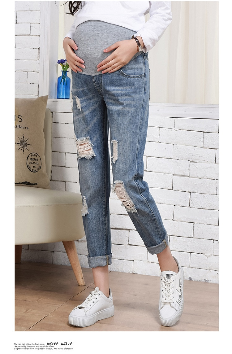 Maternity Jeans Maternity Pants Clothes For Pregnant Women Trousers Nursing Prop Belly Leggings Jeans Pregnancy Pants maternity jeans maternity nursing trousers for pregnant women pregnancy jeans pants maternity clothes for pregnant women e0037