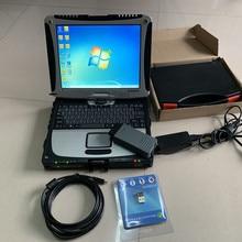 latest with full chip vas 5054a oki vas5054a odis v 5.13 software installed in laptop cf19 full set diagnostic scanner