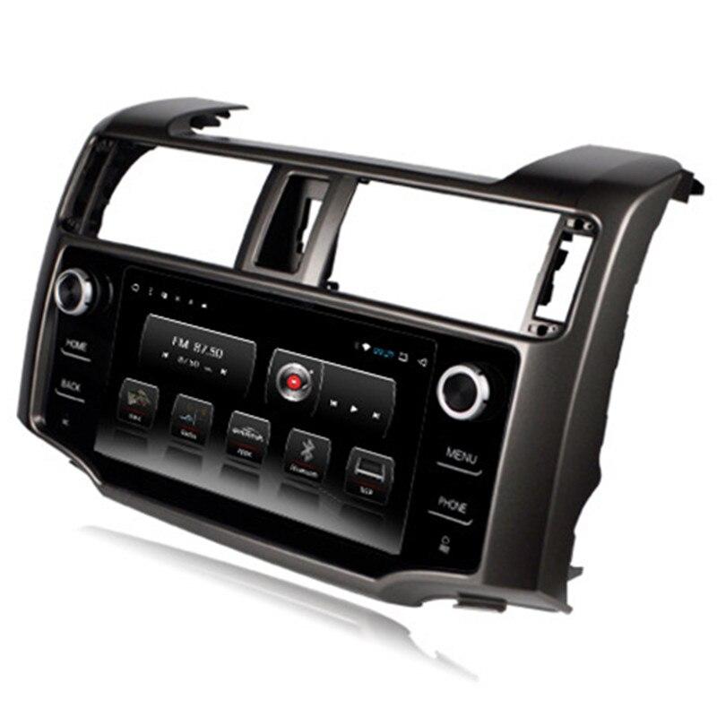 "9 ""DSP Android coche Multimedia radio estéreo de Audio DVD GPS de navegación se sentó unidad principal de navegación para Toyota 4 Runner 4 Runner 2013 de 2014 a 2015"