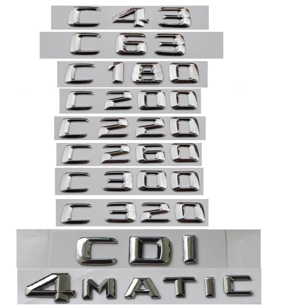 zjcgo hd car rear view reverse back up parking camera upgrade for mercedes benz mb c class w204 c180 c200 c280 c300 c350 c63 amg For Mercedes Benz C Class C63 C43 C55 AMG C180 C200 C220 C300 C320 C350 4MATIC CDI Trunk Emblem Badge Chrome Letters Emblems