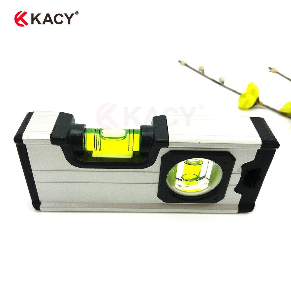 Nivel de burbuja de bolsillo Mini portátil de microprecisión de regalo inclinometro nivel de agua práctico
