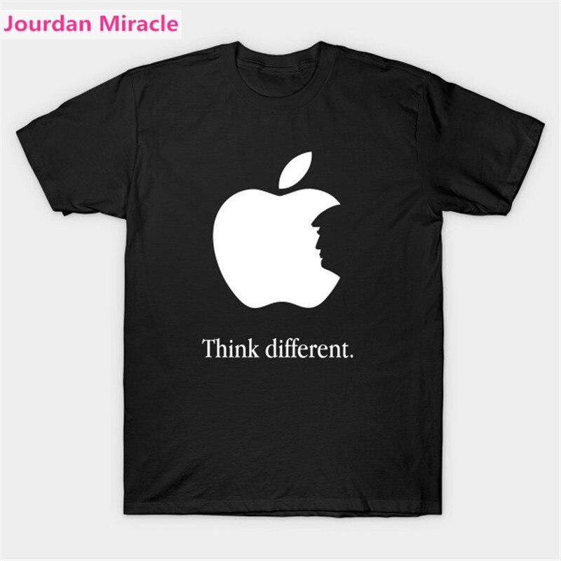 Футболка «Дональд Трамп», «Трамп думаю», специальная дизайнерская футболка, облегающая брендовая короткая футболка, Повседневная Уличная Мужская модная рубашка
