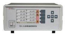 TD-8U-01 multicanal température mètre canal 8 avec Interface USB thermocoupleE, J, K, N, R, S, B, T. type standard K