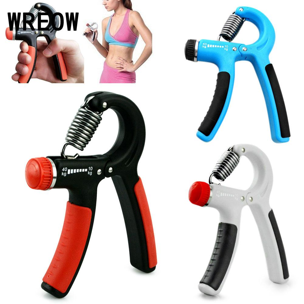 Power tool accessories Hand Grip Gripper Wrist Adjustable Hand Forearm Strength Training Grips finger trainer 10-40Kg