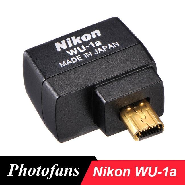 Беспроводной мобильный адаптер Nikon WU-1a wu1a для Nikon D3200 D3300 D5200 D7100 DF