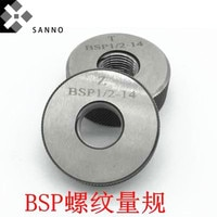 BSP3 BSP3 1/2 BSP4 BSP5 BSP6 tapered thread pipe ring gauge Go-No-Go gage screw thread ring gauging