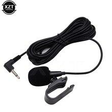 MINI micrófono profesional de Audio para coche 3,5mm Jack Plug Mic Stereo Mini micrófono con cable externo para PC Auto DVD Radio nuevo