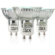 20 W 35 W 50 W GU10 haute luminosité blanc chaud 2800 K lampe halogène haute efficacité lumineuse pour la maison ampoules AC220-240V