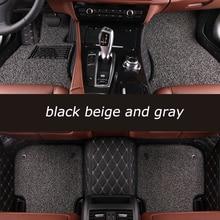 kalaisike Custom car floor mats For Audi all model A1 A3 A4 A5 A6 A8 A7 Q3 Q5 Q7 S3 S5 S6 S7 S8 R8 TT SQ5 SR4-7 car styling