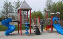 HZ-8141 de jouet de terrain de jeu en acier galvanisé pour enfants