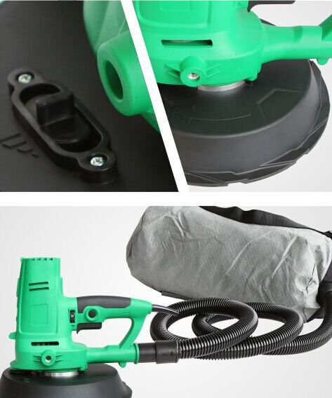 Professional Electric Drywall sander JHS-225A make wall smooth avoid dust,polish wall enlarge