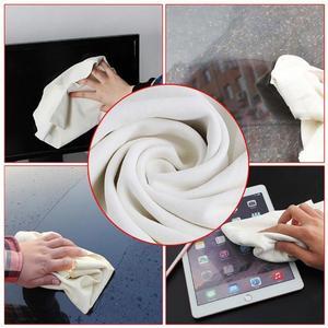 Image 2 - 40х70см натуральная замша кожа для чистки автомобиля ткань для мытья КОЖИ замша Впитывающее быстросохнущее полотенце без ворса