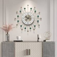 49cm Nordic clock wall clock modern design mute clock living room home fashion decorative quartz clock big clock on the wall