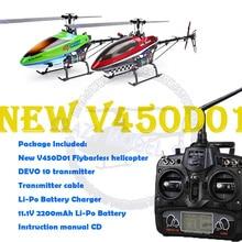 WALKERA New V450D01 Generation II 6 Axis Gyro Flybarless 6CH Helicopter w/ DEVO 10 Transmitter RTF