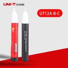 UNI-T UT12A UT12B UT12C détecteur de tension de crayon de Test dinduction sans contact AC 90 V-1000 V