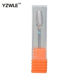 Yzwle venda quente! Prata guarda-chuva forma yg8 tungstênio aço diâmetro broca do prego/cabeça de moagem ferramenta para a máquina broca da arte do prego