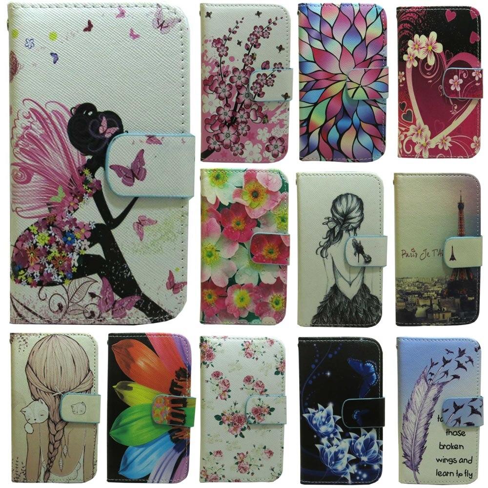 1x Fliegen lernen Feaher Blume Mädchen Eiffelturm Engel Brieftasche Flip fall abdeckung für Huawei P6 P7 P8 P9 p10 P20 Lite Plus Lite Mini
