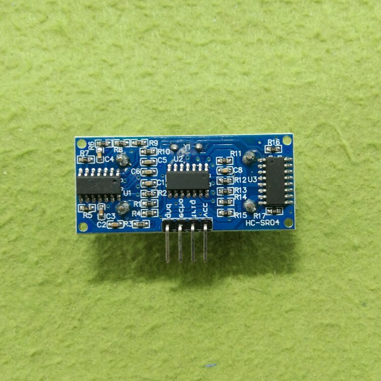 100 قطعة/الوحدة بالموجات فوق الصوتية وحدة تتراوح HC-SR04 بالموجات فوق الصوتية هيكل senso