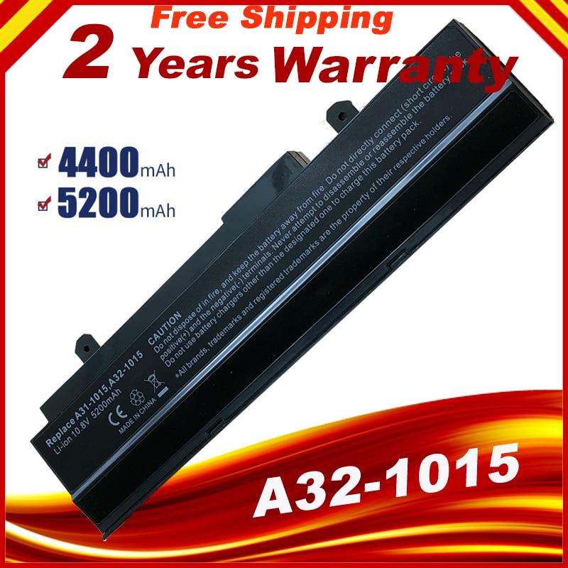 6 خلايا بطارية ل Asus A31-1015 A32-1015 Eee PC 1011 1015P 1016P 1215 1215N 1215P 1215T VX6 R011 R051
