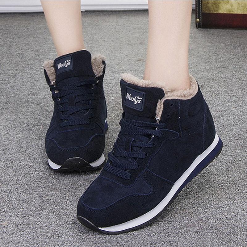 Frauen Schuhe 2019 Frauen Vulkanisieren Schuhe Plus Größe 46 Frauen Turnschuhe Plüsch Winter Schuhe Weibliche Casual Winter Turnschuhe Korb Femme