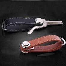 Gibo Auja - Brand New 2019 Genuine Leather Smart Key Holder Organizer Key Chain Key Wallet Famous Designer Creative Gift